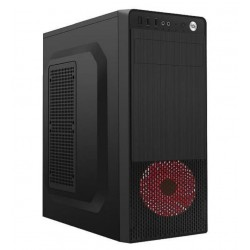 Gembird Computer case Midi Tower Fornax 150 Red USB 3.0 CCC-FC-150R
