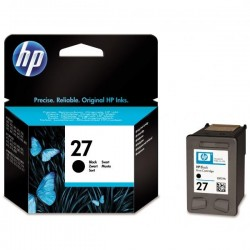 HP originál ink C8727AE, No.27, black, 10ml, HP DeskJet 3420, 3325, 3520, 3550, 3650 C8727AE#UUQ