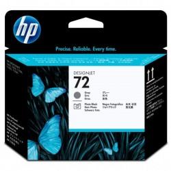 HP originál tlačová hlava C9380A, No.72, grey/black, HP Designjet T1100, T770