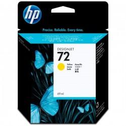 HP originál ink C9400A, No.72, yellow, 69ml, HP Designjet T1100, T770