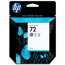 HP originál ink C9401A, No.72, grey, 69ml, HP Designjet T1100, T770