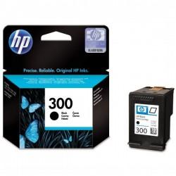 HP originál ink CC640EE, No.300, black, 200str., 4ml, HP DeskJet...