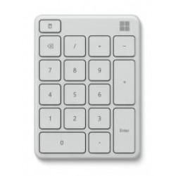 Microsoft Numerická klávesnice Wireless Number Pad, Glacier 23O-00025