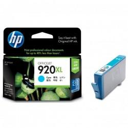 HP originál ink CD972AE#BGY, No.920XL, cyan, 700str., HP Officejet