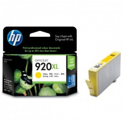 HP originál ink CD974AE#BGX, No.920XL, yellow, 700str., HP Officejet CD974AE#BGY