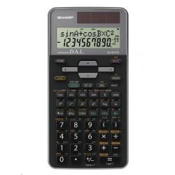 SHARP kalkulačka - EL531TGGY - šedá - box - Solární  baterie...