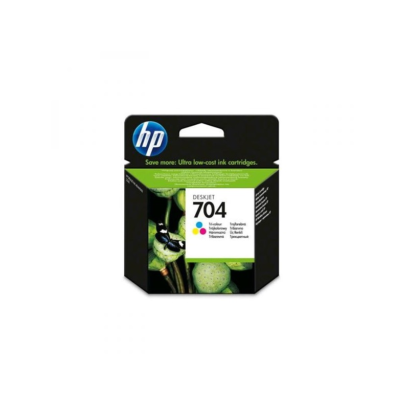 HP originál ink CN693AE, No.704, color, 200str., 5,5 mlml, HP Deskjet 2060