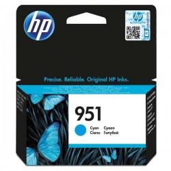 HP originál ink CN050AE, No.951, cyan, 700str., pre HP Officejet Pro 251, 276, 8100, 8600 N911a, 8610