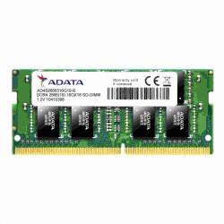 SODIMM DDR4 16GB 2666MHz CL19 ADATA Premier memory, 1024x8, Single...