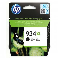HP originál ink C2P23AE, No.934XL, black, 1000str., 25,5ml, HP Officejet 6812,6815,Officejet Pro 6230,6830,6835 C2P23AE#BGY