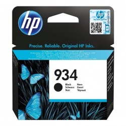 HP originál ink C2P19AE, No.934, black, 400str., HP Officejet 6812,6815,Officejet Pro 6230,6830,6835 C2P19AE#BGY