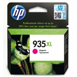 HP originál ink C2P25AE#BGY, No.935XL, magenta, 825str., 9,5ml, HP Officejet 6812,6815,Officejet Pro 6230,6830,6835