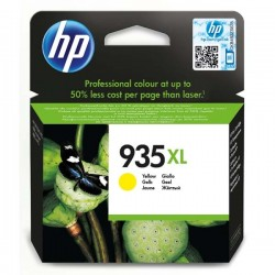 HP originál ink C2P26AE, No.935XL, yellow, 825str., 9,5ml, HP Officejet 6812,6815,Officejet Pro 6230,6830,6835 C2P26AE#BGY