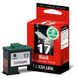 Lexmark originál ink 10NX217E, #17+, black, 235str., Lexmark Z13, Z23, Z33, Z25, Z35