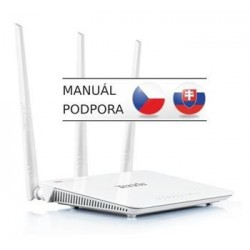 Tenda F3 - Wireless-N Router 802.11b/g/n, 300Mbps, 1x WAN, 3x LAN,...