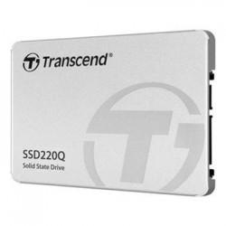 TRANSCEND SSD220Q 2TB SSD disk 2.5' SATA III 6Gb/s, QLC, Aluminium...