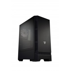 FSP/Fortron ATX Midi Tower CMT260 Black, průhledná bočnice POC0000088