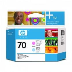 HP originál tlačová hlava C9405A, No.70, light cyan/light magenta, HP Photosmart Pro B9180, Designjet Z2100, Z3100