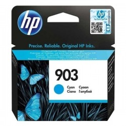 HP originál ink T6L87AE, No.903, cyan, 315str., 4ml, HP Officejet 6962,Pro 6960,6961,6963,6964,6965,6966 T6L87AE#BGY