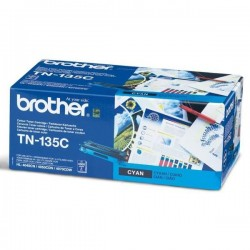 Brother originál toner TN135C, cyan, 4000str., Brother HL-4040CN, 4050CDN, DCP-9040CN, 9045CDN, MFC-9440C