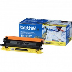 Brother originál toner TN135Y, yellow, 4000str., Brother HL-4040CN, 4050CDN, DCP-9040CN, 9045CDN, MFC-9440C