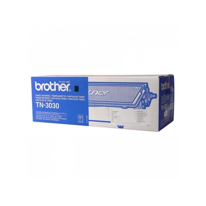 Brother originál toner TN3030, black, 3500str., Brother HL-5130, 5150D, 5170DN, MFC-8220, DCP-8040, 8045D