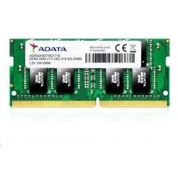 SODIMM DDR4 4GB 2400MHz CL17 ADATA Premier memory, 512x16, Retail...