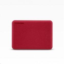 "TOSHIBA HDD CANVIO ADVANCE (NEW) 1TB, 2,5"", USB 3.2 Gen 1, červená..."