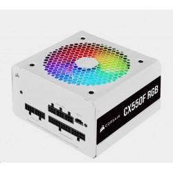 CORSAIR zdroj, CX550F 80 Bronze modulární RGB, 120mm ventilátor...