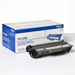Brother originál toner TN3380, black, 8000str., Brother HL-5440D, HL-5450DN, HL-5470DW, HL-6180