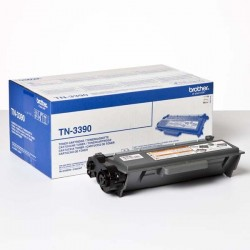 Brother originál toner TN3390, black, 12000str., Brother HL-6180, DCP-8250