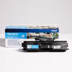 Brother originál toner TN-321C, cyan, 1500str., Brother HL-L8350CDW,HL-L9200CDWT TN321C