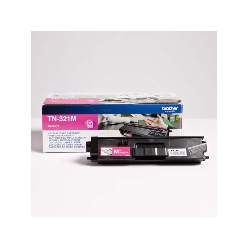 Brother originál toner TN-321M, magenta, 1500str., Brother HL-L8350CDW,HL-L9200CDWT TN321M