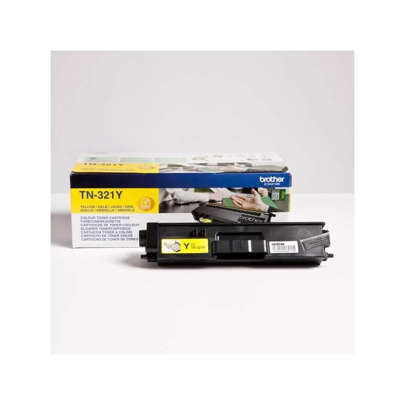 Brother originál toner TN-321Y, yellow, 1500str., Brother HL-L8350CDW,HL-L9200CDWT TN321Y