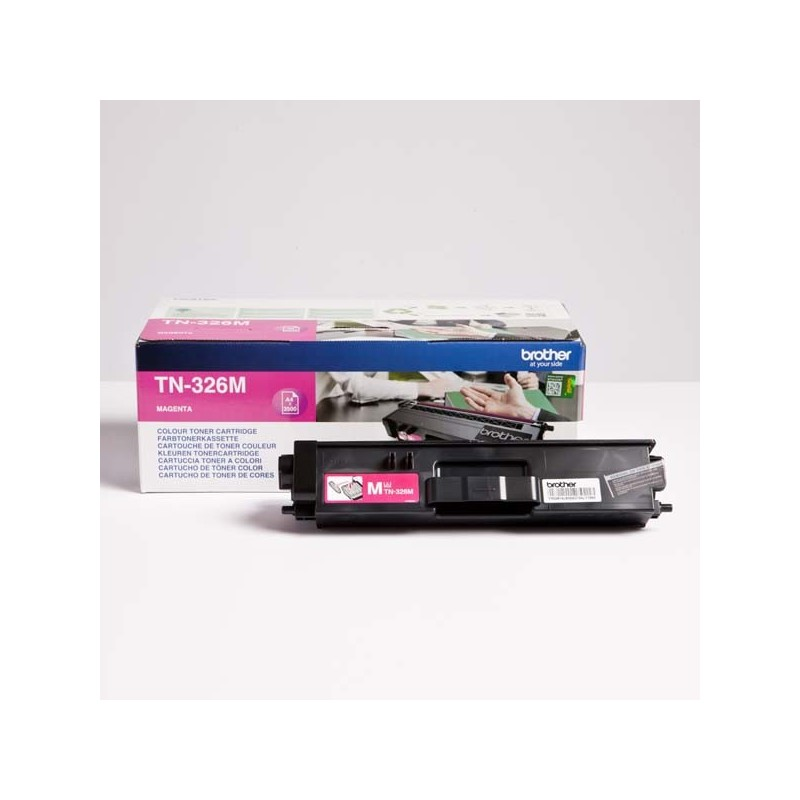 Brother originál toner TN-326M, magenta, 3500str., Brother HL-L8350CDW, DCP-L8400CDN TN326M