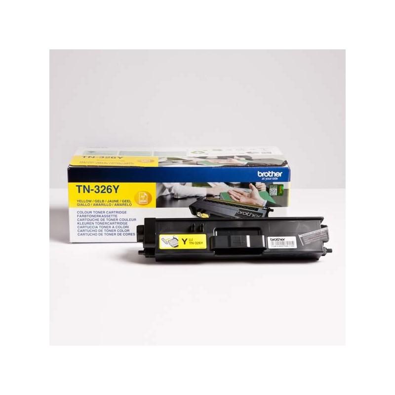 Brother originál toner TN-326Y, yellow, 3500str., Brother HL-L8350CDW, DCP-L8400CDN TN326Y