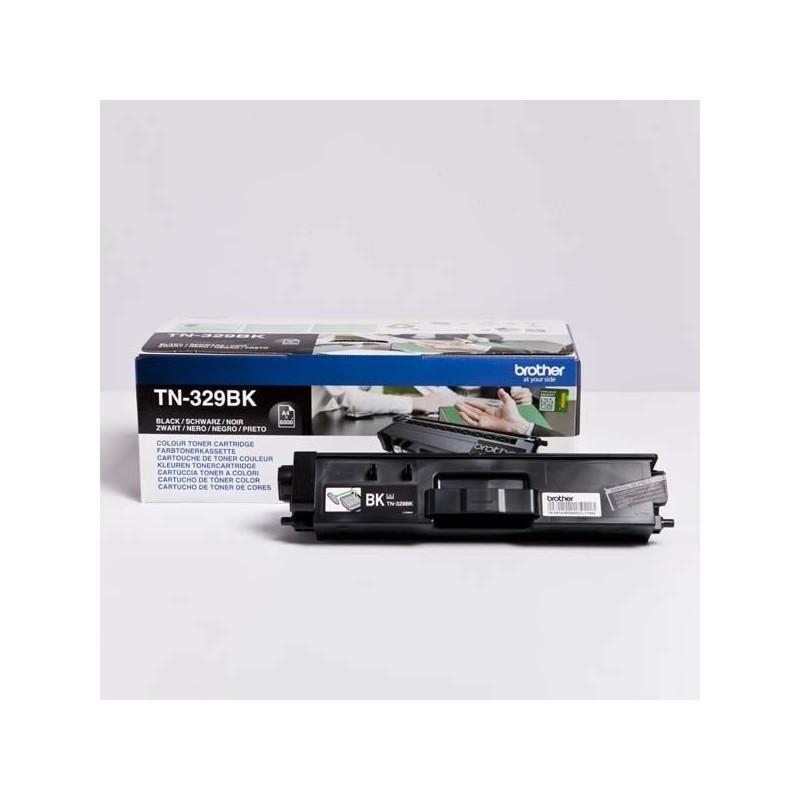 Brother originál toner TN-329BK, black, 6000str., Brother HL-L8350CDW,HL-L9200CDWT TN329BK