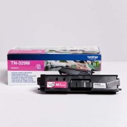 Brother originál toner TN-329M, magenta, 6000str., Brother HL-L8350CDW,HL-L9200CDWT TN329M