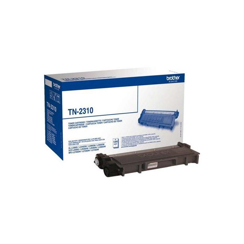 Brother originál toner TN2310, black, 1200str., Brother HL-L23xx, DCP-L25xx, MFC-L27xx