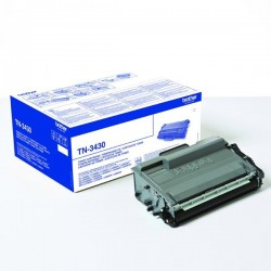 Brother originál toner TN3430, black, 3000str., Brother HL-L6400DW