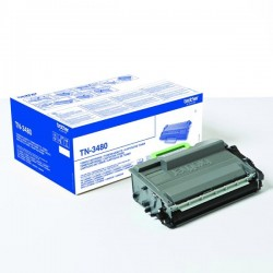Brother originál toner TN3480, black, 8000str., Brother HL-L6400DW