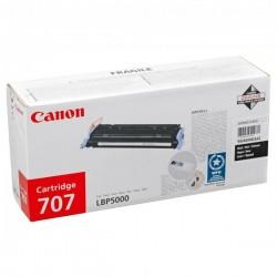 Canon originál toner CRG-707, black, 2500str., 9424A004, Canon LBP-5000