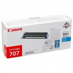 Canon originál toner CRG-707, cyan, 2000str., 9423A004, Canon LBP-5000