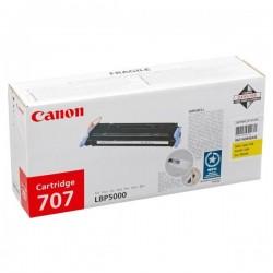 Canon originál toner CRG-707, yellow, 2000str., 9421A004, Canon LBP-5000