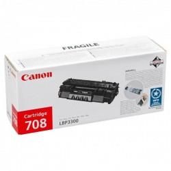 Canon originál toner CRG-708, black, 2500str., 0266B002, Canon LBP-3300