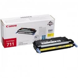 Canon originál toner CRG-711, yellow, 6000str., 1657B002, Canon LBP-5300