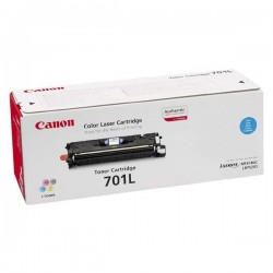 Canon originál toner CRG-701, cyan, 2000str., 9290A003, Canon LBP-5200, Base MF-8180c