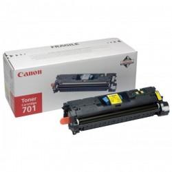 Canon originál toner CRG-701, yellow, 4000str., 9284A003, Canon LBP-5200, Base MF-8180c