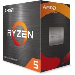 AMD, Ryzen 5 5600X, Processor BOX, soc. AM4, 65W, s Wraith Stealth...