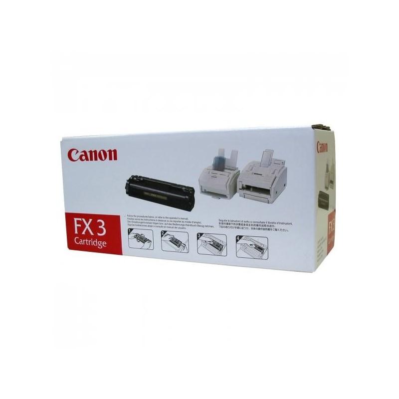 Canon originál toner FX-3, black, 2700str., 1557A003, Canon L-300, 350, 260i, 280, 300, Multipass L-90, 60